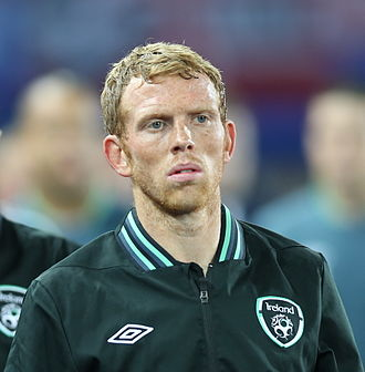 Paul Green (footballer, born 1983) - Green with the Republic of Ireland in 2013