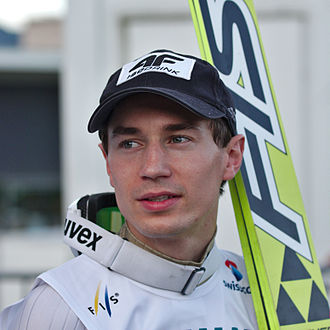 2013–14 FIS Ski Jumping World Cup - Image: FIS Sommer Grand Prix 2014 20140809 Kamil Stoch 2