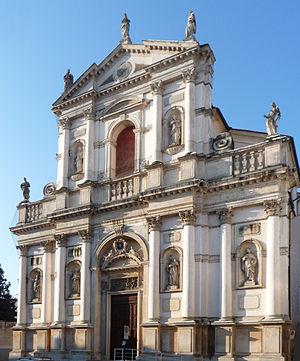 San Marco in San Girolamo - Facade Church of San Marco in San Girolamo in Vicenza