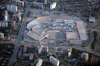 Fairview Mall - Image: Fairview Mall aerial 2009