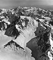 Fairweather Glacier, cirque glacier and mountain glacier, August 24, 1963 (GLACIERS 5430).jpg