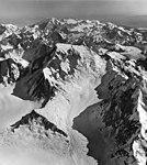 Fairweather Glacier, cirque glacier and mountain glacier, August 24, 1963 (GLACIERS 5430).jpg