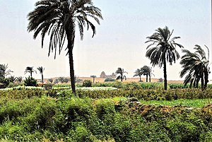 Karanis Site Museum - A scenic view of Faiyum Oasis archaeology region