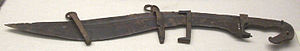 Lusitanians - Falcata, a fourth-century BC sword