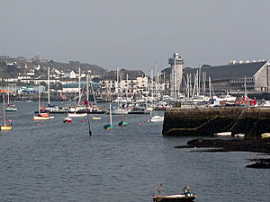 Falmouth, Cornwall - Falmouth Harbour, National Maritime Museum, Cornwall and Pendennis Castle.