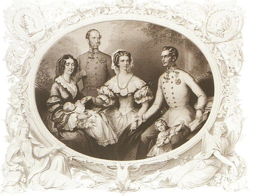Family of Franz Joseph I