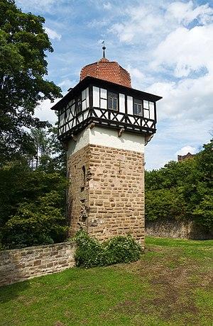 Faust tower, Maulbronn Monastery, Maulbronn, Germany