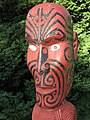Fearsome Maori Warrior with Abalone Shell Eyes - panoramio.jpg