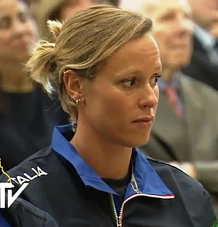 Federica Pellegrini Italian swimmer