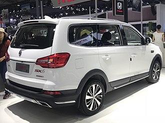 Fengxing Jingyi X6 - Fengxing Jingyi X6 rear