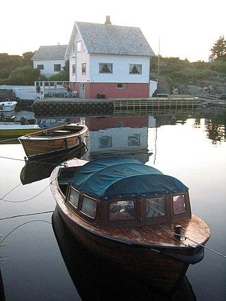 Feøy - View of Feøy harbour