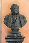 Ferdinand von Hebra (1816-1880), Nr. 106, bust (bronze) in the Arkadenhof of the University of Vienna-2877.jpg
