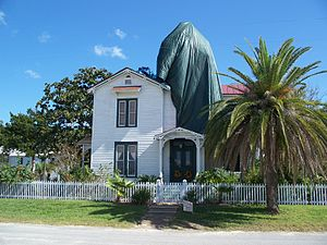 The New Adventures of Pippi Longstocking - The Villa Villekulla of the movie at the Original Town of Fernandina Historic Site, in Fernandina Beach (picture from 2010)