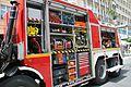 Festival of Piotrkowska Street 2015 04 Fire truck.jpg