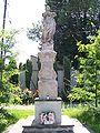 Figurka nieopodal Kościoła w Ogrodzieńcu.jpg