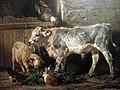 Filippo Palizzi (1818-1899), Gli amici (la stalla) olio su tela 1872.jpg