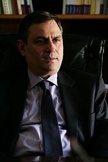 Filippos Sachinidis Greek politician