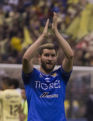 André-Pierre Gignac - Gignac with Tigres in 2016
