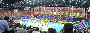Baku Crystal Hall - Image: Final Four Baku 4
