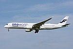 Finnair, Airbus A350-900 OH-LWB 'One World' NRT (35926228120).jpg