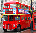 First London Routemaster RM1627 (627 DYE) heritage route 9 Trafalgar Square 23 April 2006 cropped.jpg