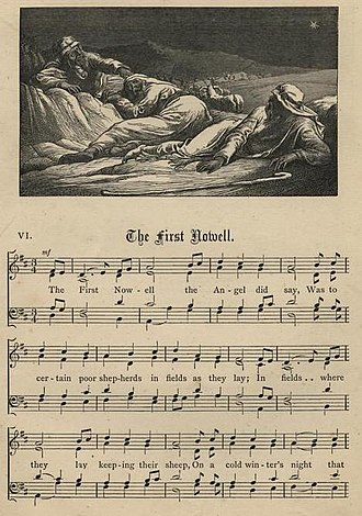 The First Noel - Image: First Nowell stainer