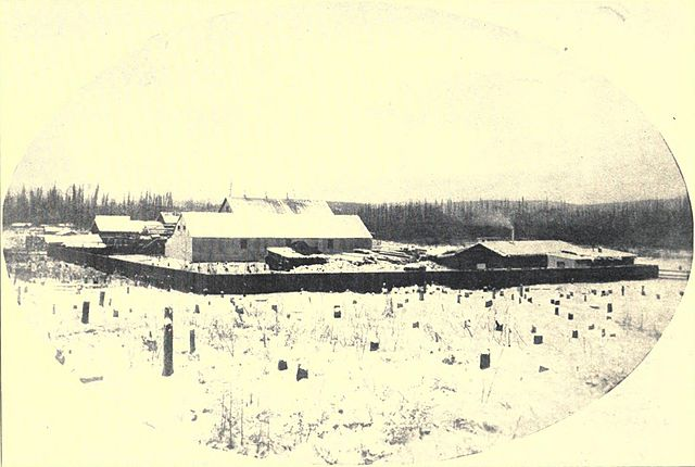 The beginning of Fairbanks, Alaska, 1903
