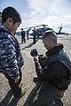 First public display of Osprey in mainland Japan 131201-M-YE622-738.jpg