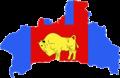 Flag-map of Brest Region.png