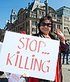 Flickr - NewsPhoto! - Protest in Amsterdam tegen onderdrukking in Thailand (1).jpg