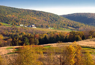 Pennsylvania - Autumn in North Branch Township, Wyoming County, Pennsylvania