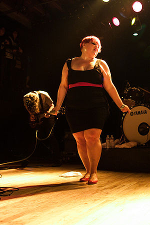 Beth Ditto with Gossip at the Mezzanine (San F...