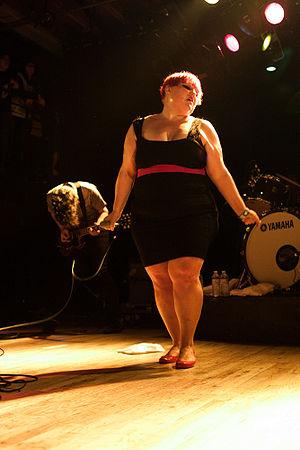 Beth Ditto with Gossip at the Mezzanine (San F...