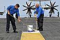Flight deck maintenance 120429-N-YX169-149.jpg