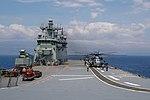 Flight deck of HMAS Adelaide during RIMPAC 2018.jpg
