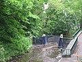 Flood defences on Cockshaw Burn - geograph.org.uk - 822138.jpg