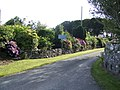 Floral entrance to Carew Farm - geograph.org.uk - 523988.jpg