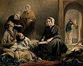 Florence Nightingale. Coloured lithograph. Wellcome V0006578.jpg
