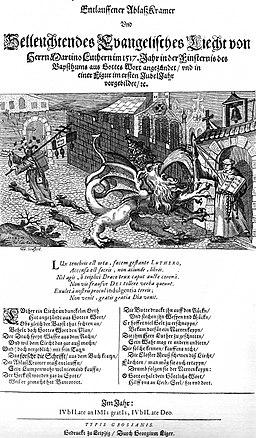 Flugblatt-Luther-Thesen