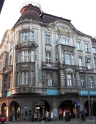 Marshal Ferdinand Foch Street in Bydgoszcz - Image: Focha 2 Bydg