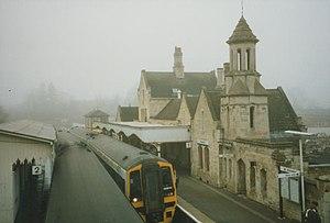 Stamford railway station - Stamford station, 7 December 1996