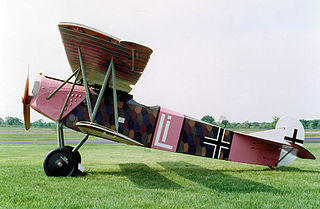 Fokker D.VII fighter aircraft