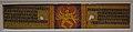 Folio from Ashtasahasrika Prajnaparamita Manuscript - Sanskrit - Ranjani - Varendra Bhumi - Palm Leaf - ca 12th Century CE - Eastern India - ACCN At-72-101-F - Indian Museum - Kolkata 2016-03-06 1755.JPG