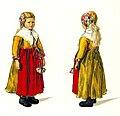 Folkdräkt, barn. Sommarkolt för småkullor. Gagnefs socken, Dalarna. Emelie von Walterstorff - Nordiska Museet - NMA.0035328.jpg