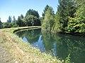 Following Leaburg Canal bike route (15129073519).jpg