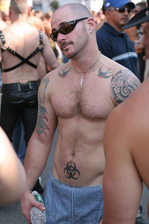 Chest hair - Image: Folsom 1