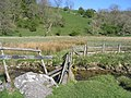 Footbridge across Gordale Beck - geograph.org.uk - 505888.jpg