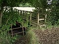 Footbridge across Wagaford Water - geograph.org.uk - 494509.jpg
