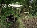 Footbridge across Wagaford Water - geograph.org.uk - 494509.jpg