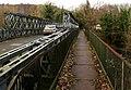 Footbridge on the north side of Glangrwyney Bridge, Glangrwyney (geograph 6015187).jpg